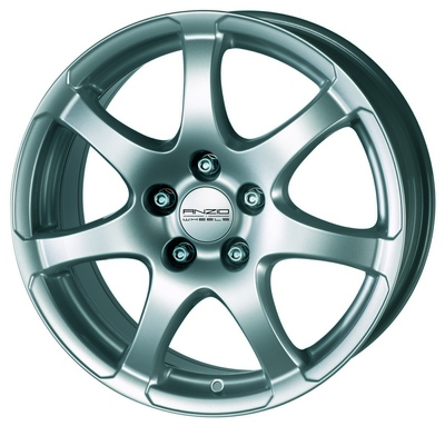 ANZIO LIGHT 7,0X16, 5X115/46 (70,2) (S) (TÜV) KG670 NB! HEA HIND!