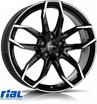 RIAL LUCCA BD 7,5X17, 5X110/29 (65,1) (Z) KG735
